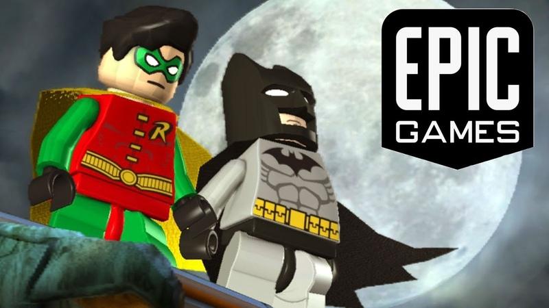 Халява из Apic game store - Lego Batman video game