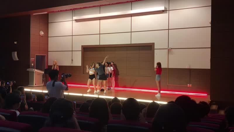 26 07 18 SeMiNa Ruby Heart @ Korea University