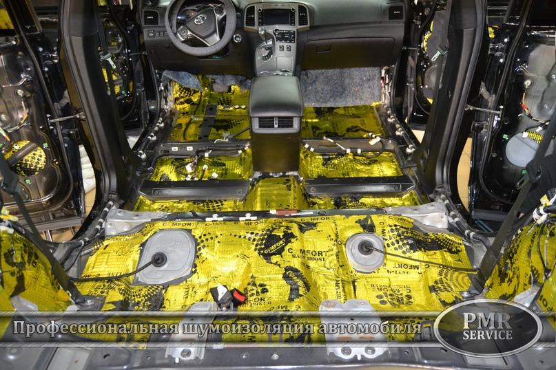 Шумоизоляция Toyota Venza, изображение №8