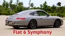 Porsche 911 Carrera Fister Muffler w Catless X Pipe Sound