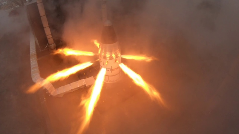Fired Up! Final Test of Orion Motor Critical to Astronaut Safety a Spectacular Success