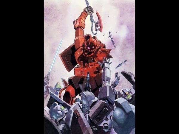 Mobile Suit Gundam The Origin 5 OST - The Battle of Loum Sector