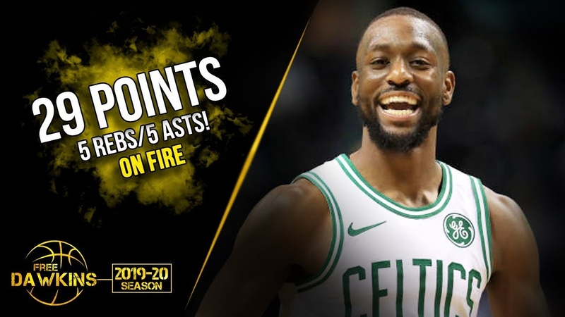 Kamba Walker Full Highlights 2019.11.11 Celtics vs Mavs - 29 Pts, 5 Asts, On-FiRE! | FreeDawkins