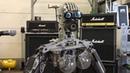 Compressorhead Robot Band Performance in Berlin Spandau