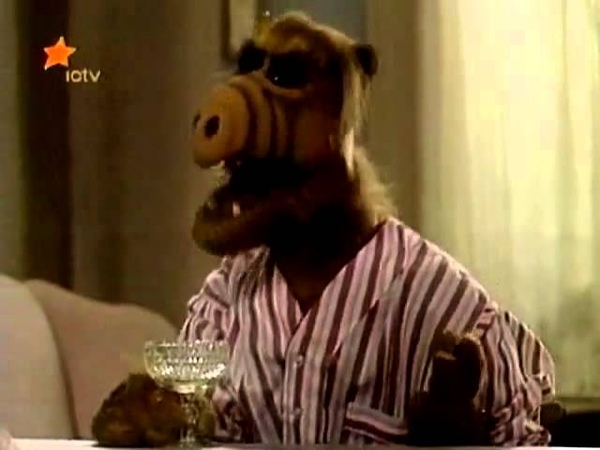 ALF Breaks Glass With Hiccups Ella Fitzgerald ICTV