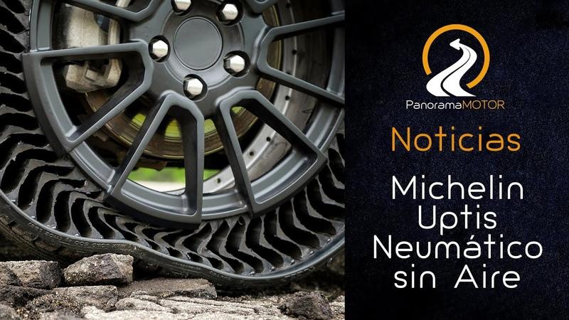 Michelin Uptis neumático sin aire Airless | Información 2019