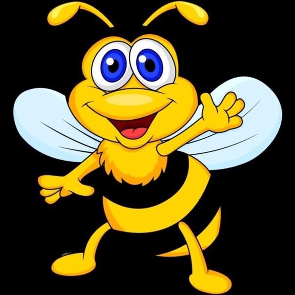 картинка прикольная пчела для мобильного помогая