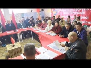 Полковник Иванов в Краснодаре возрождаем Советскую Милицию!