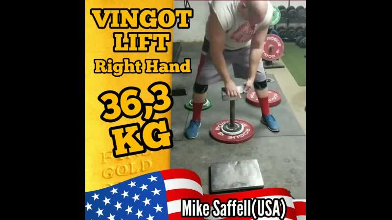 Mike Saffell USA VINGOT LIFT 36 3 kg RH