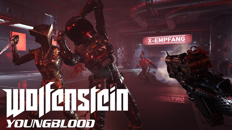 ЖЕСТКИЕ КАТАКОМБЫ ● Wolfenstein: Youngblood 3 [PC 1080p60 Ultra]