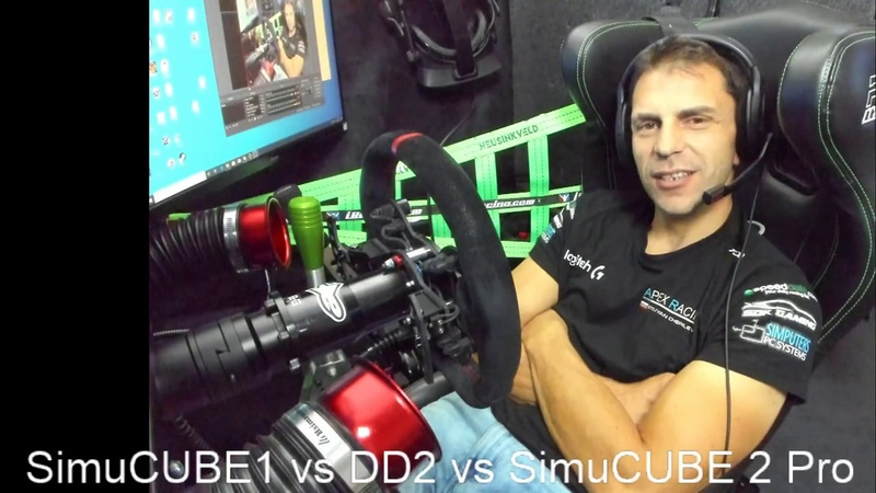 SimuCUBE 2 vs Fanatec DD2 vs OSW explaned from basic user point of view