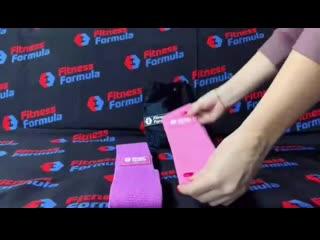Новые стильные и крепкие фитнес резинки от #FitnessFormula