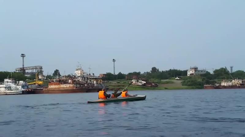 Сплав Под 7-ю мостами 28.07.19 - Последняя пристань судов