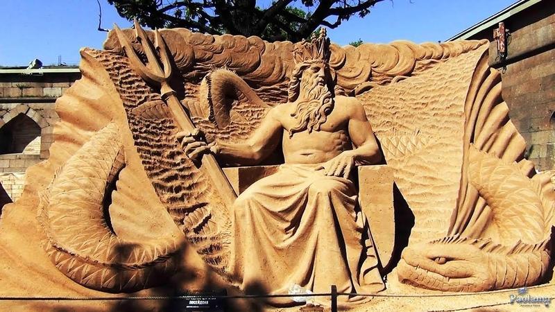 Фестиваль песчаных скульптур «Затерянные миры» (2019)
