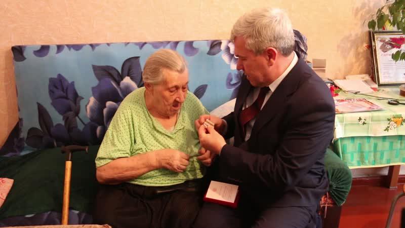Вручение медалей Ветеранам