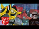 Трансформеры роботы Под прикрытием часть2