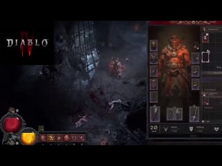DIABLO 4 NEW Gameplay R. QUEST COMPLETE  A LIGHT IN THE DARK JUNE 2020
