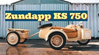 Реставрация военного мотоцикла Цундапп КС 750/Zundapp KS-750