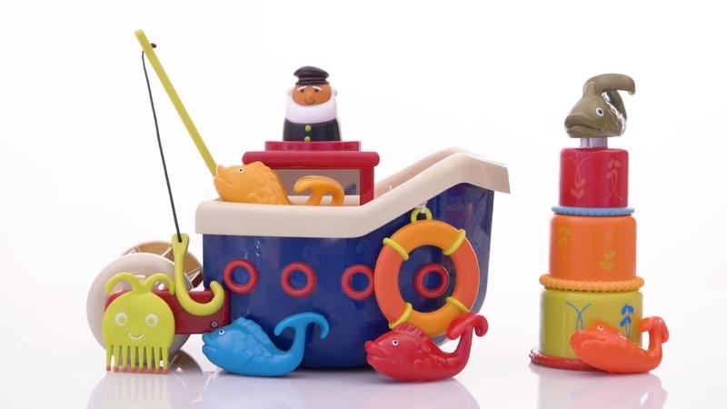 Игровой набор Ловись, рыбка, 12 аксессуаров от Battat
