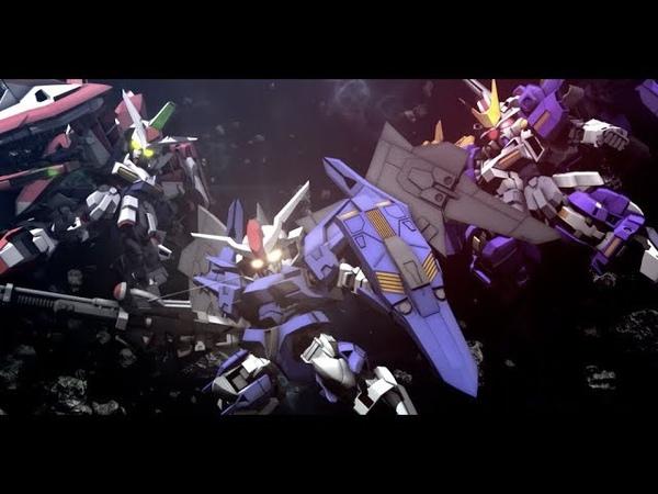 SD Gundam G Generation Cross Rays - Announcement Trailer | PC