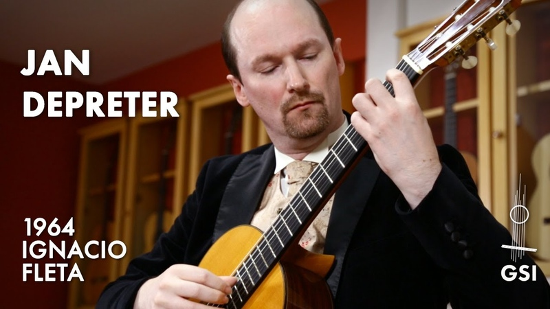 William Walton's Five Bagatelles No 1 played by Jan Depreter on a 1964 Ignacio Fleta