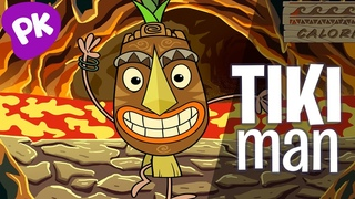 Tiki Man | Let's Move: Music for Kids, Brain Break, Dance Songs for Kids, Action Songs