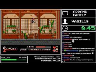 100 NES/Famicom games - Addams Family (34/100)