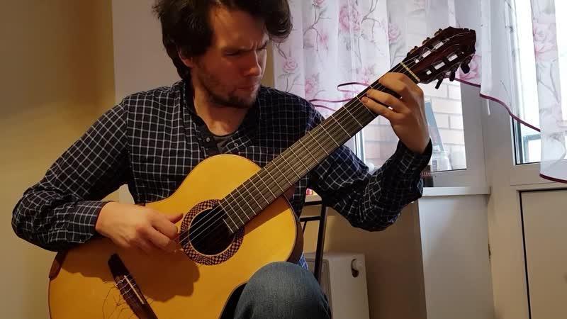 Степан Козуб Stephen Kozub Roland Diens Fuoko Libra Sonatine part 3 Репетиция