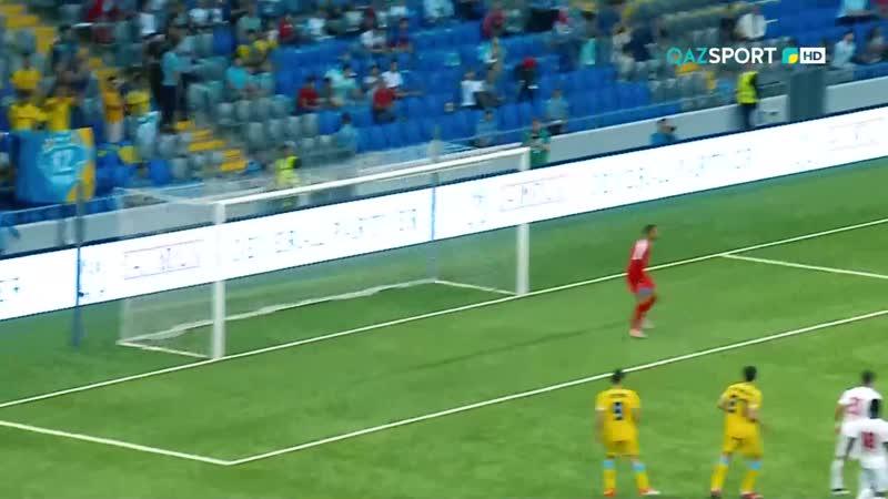 УЕФА Еуропа Лигасы. Плей-офф. Астана - БАТЭ.
