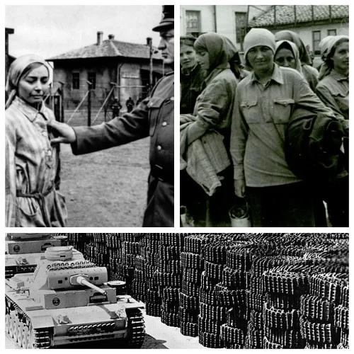 Как использовали советских женщин в 3-м Рейхе