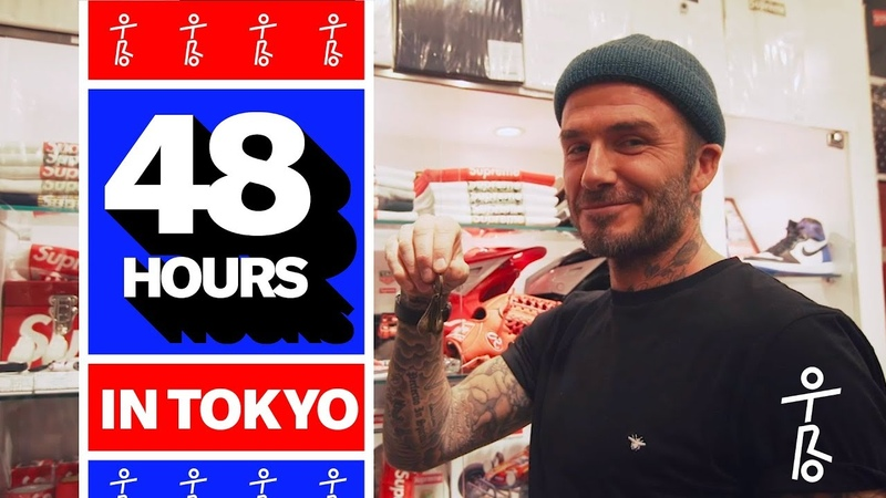 David Beckham Takes OTRO on a Tour of Tokyo | 48 Hours in Tokyo