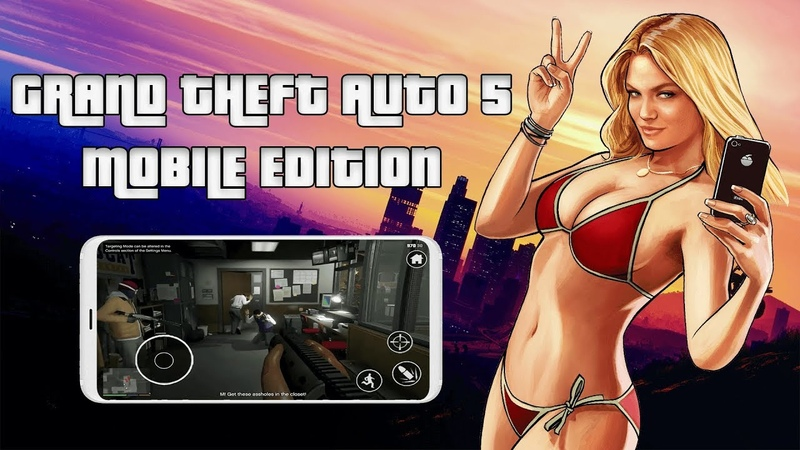 GTA 5 Mobile Gameplay Android APK IOS Download