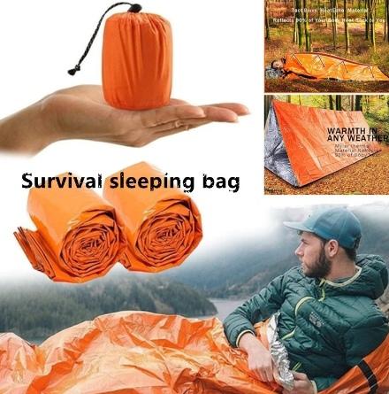 Карманный спальный мешок-палатка