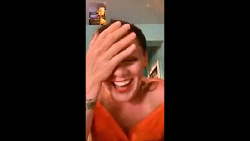 P nk's Facetime conversation with Jen Pastiloff April 3rd 2020