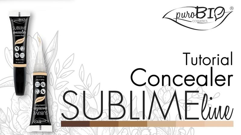 Tutorial SUBLIME Correttore Fluido - puroBIO cosmetics (ENG subtitle) (FR sous-titres)