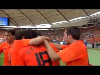 Robin Van Persie Free Kick vs Ivory Coast HD