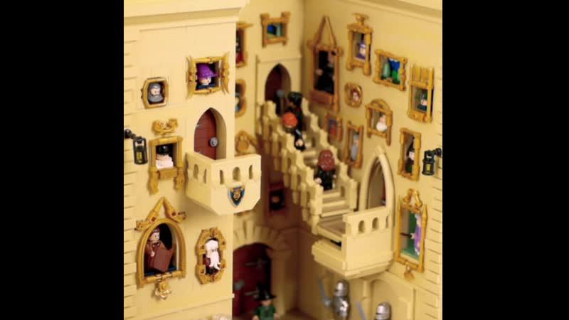 Лего Гарри Поттер самоделка