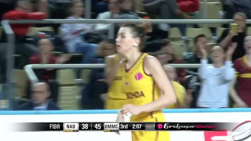 Anastasiia Shilova EuroLeagueWomen highlights~