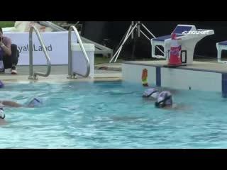 Финал по подводному хоккею