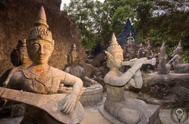 Магический сад Будды на Самуи (Таиланд)