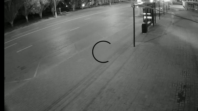 Опубликовано новое видео прогулок по Волгограду главного подозреваемого в зверском убийстве студента