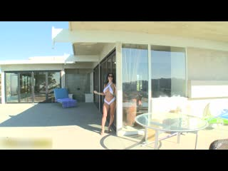 Ava Addams - Pool Side Slide [ CLASSIC PORNO ]