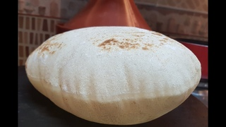 Arabic Bread / how to make pita Bread at home #1  خبز عربي بدون فرن