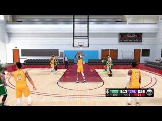 NBA 2K21: Lakers vs. Celtics