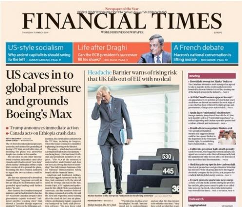 Financial Times Europe - 14 03 2019