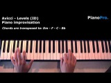 Avicci - Levels cover improvisation on piano (with chords)