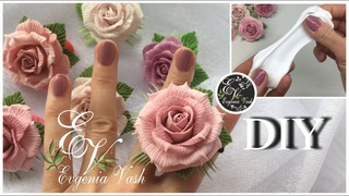 Невероятно КРАСИВО и БЫСТРО получаются РОЗЫ | УКРАШЕНИЯ для МОДНИЦ | FLOWERS made of CLAY