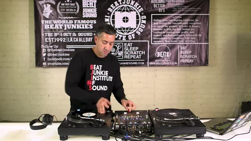 How To Melo D of the Beat Junkies Teaches the Tear Scratch