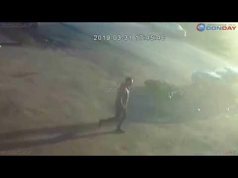 Donday Момент ДТП с мотоциклом на Харьковском шоссе в Новочеркасске