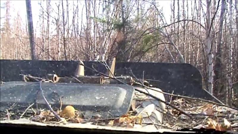 Видео о том как вездеход ГАЗ 71 ходит по тайге